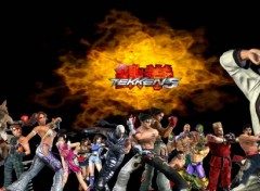 Fonds d'écran Dual Screen Tekken 5 Personnages