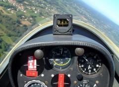 Fonds d'écran Avions Planeur au dessus de la Haute-Vienne