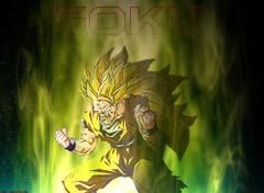 Fonds d'écran Manga Goku SSJ3