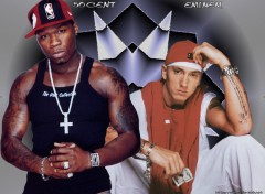 Wallpapers Music Eminem et 50cent