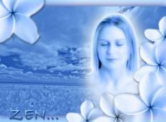 Fonds d'écran Art - Numérique Zen Attitude