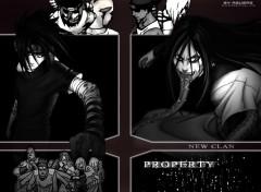 Fonds d'écran Manga Property Clan