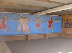Fonds d'écran Voyages : Océanie Abris bus, à Poum