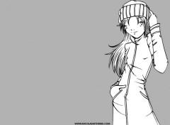 Fonds d'écran Manga the girl in grey