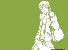 Fonds d'écran Manga I'm Vert