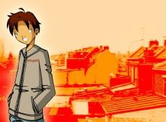 Fonds d'écran Manga sun boy
