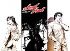 Fonds d'écran Manga Glass Heart & City Hunter