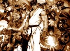 Fonds d'écran Jeux Vidéo Street Fighter 4 Ever