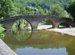 Fonds d'écran Nature Le pont de Belcastel (Aveyron)