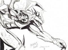 Fonds d'écran Art - Crayon Devil