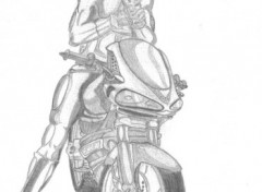 Wallpapers Art - Pencil Motard