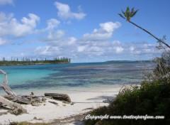 Wallpapers Nature Baie de Kanumera - Ile des Pins - Nouvelle Calédonie