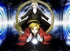Fonds d'écran Manga Alphonse & Edward