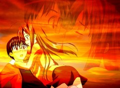 Fonds d'écran Manga Keitaro et naru