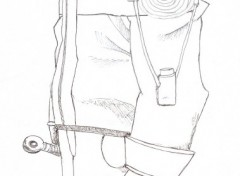 Fonds d'écran Art - Crayon naruto3