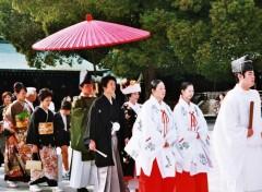Fonds d'écran Voyages : Asie Mariage à la japonaise
