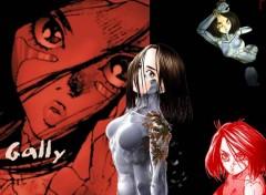 Wallpapers Manga Gally