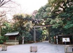 Fonds d'écran Voyages : Asie Porte Shinto