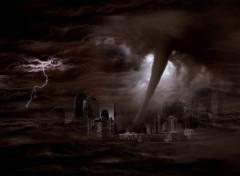 Fonds d'écran Art - Numérique Tornado