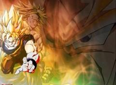 Fonds d'écran Manga GOKU ET BROLY