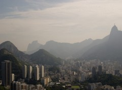 Wallpapers Trips : South America View of Corcovado from Sugar Loaf
