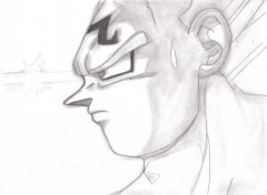 Fonds d'écran Art - Crayon bad vegeta