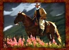 Fonds d'écran Cinéma Cowboy