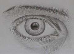 Fonds d'écran Art - Crayon mon oeil!