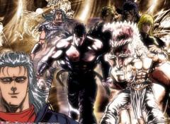 Fonds d'écran Manga Hokuto team