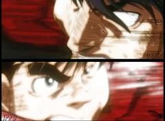 Fonds d'écran Manga Ruthay Hajime No Ippo Okita vs Ippo 01