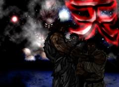 Fonds d'écran Jeux Vidéo Akuma & Ryu