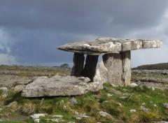 Fonds d'écran Voyages : Europe Dolmen Irlandais
