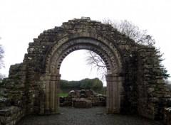 Fonds d'écran Voyages : Europe Arche à Clonmacnoise