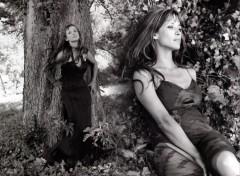 Fonds d'écran Célébrités Femme Sur les traces du Jardin d'Eden