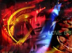 Fonds d'écran Art - Numérique love bb...