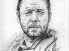 Wallpapers Art - Pencil Russell Crowe
