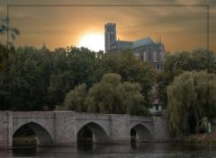 Fonds d'écran Voyages : Europe Cathédrale de Limoges.