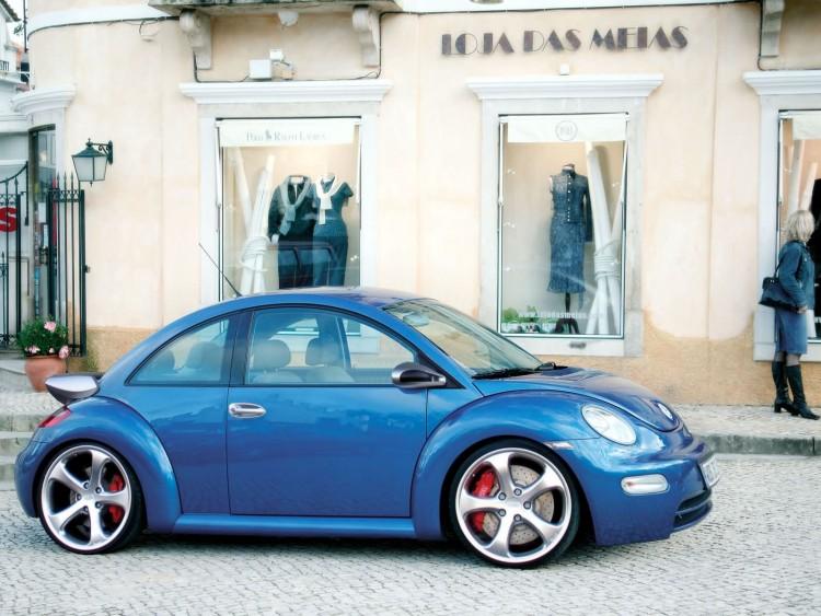 Fonds d'écran Voitures Tuning New Beetle Techart, Porsche design
