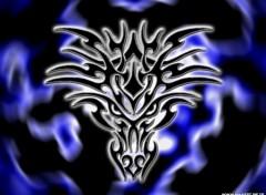 Wallpapers Digital Art The dragon spirit tribal