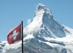 Fonds d'écran Voyages : Europe Le Cervin à Zermatt