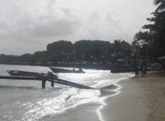 Wallpapers Trips : North America Plage de Saint-Anne, en Guadeloupe