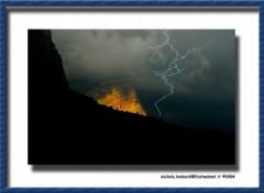 Fonds d'écran Nature Fulmine dal passo Sella