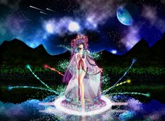 Fonds d'écran Manga No Surface Moon (fairy-like)