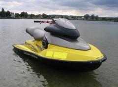 Fonds d 39 cran sports loisirs fonds d 39 cran jetski jetski sea doo xp model 99 par cabrinha - Jet ski dessin ...