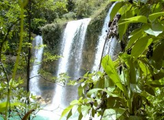 Wallpapers Nature cascade del limone (Republica Dominica)
