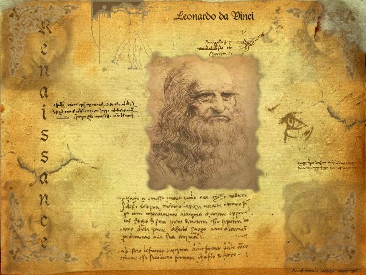 Fonds d'écran Célébrités Homme  Leonardo da Vinci