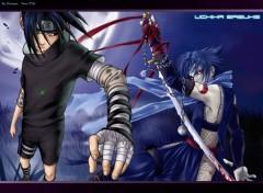 Fonds d'écran Manga Sasuke