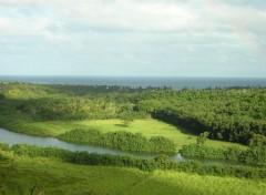 Fonds d'écran Nature verte vallée