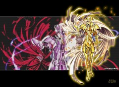 Wallpapers Manga gemini saint seiya world sacred saga