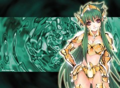 Wallpapers Manga golden angel saint seiya world